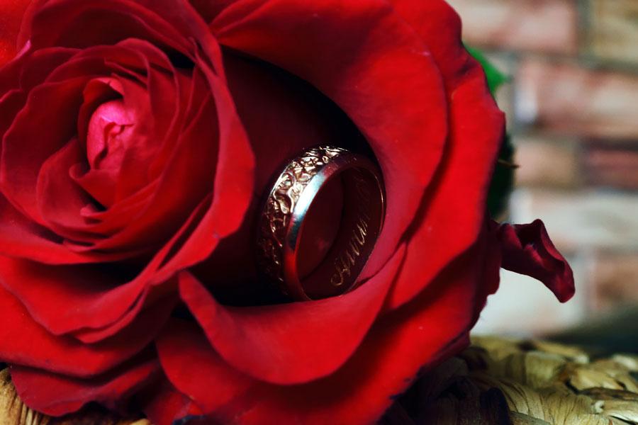 Giedrės Navickienės fotografija - Vestuvinių žiedų graviravimas