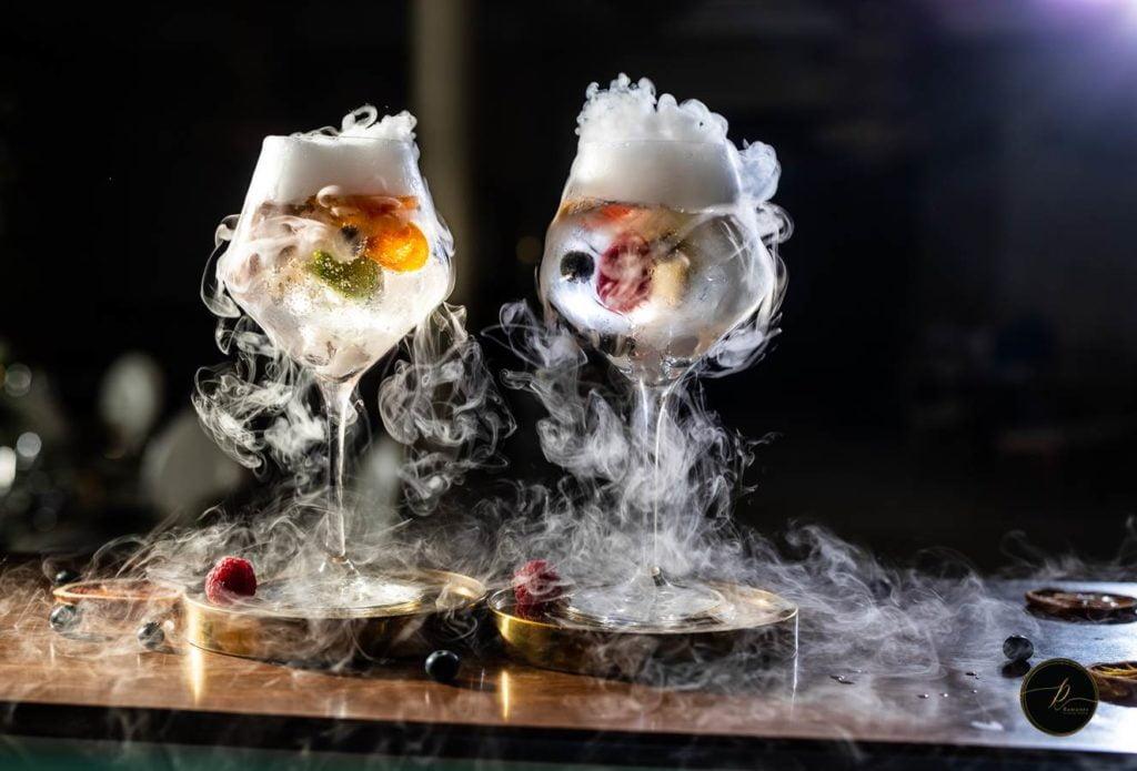 Mobilus kokteilių baras - nealkoholiniai kokteiliai - CwB Barmenai