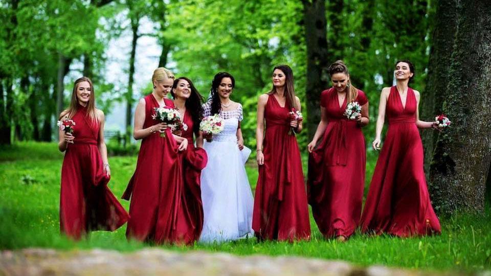 Top To Bottom - pamergių suknelės - multi suknelė - Vilnius
