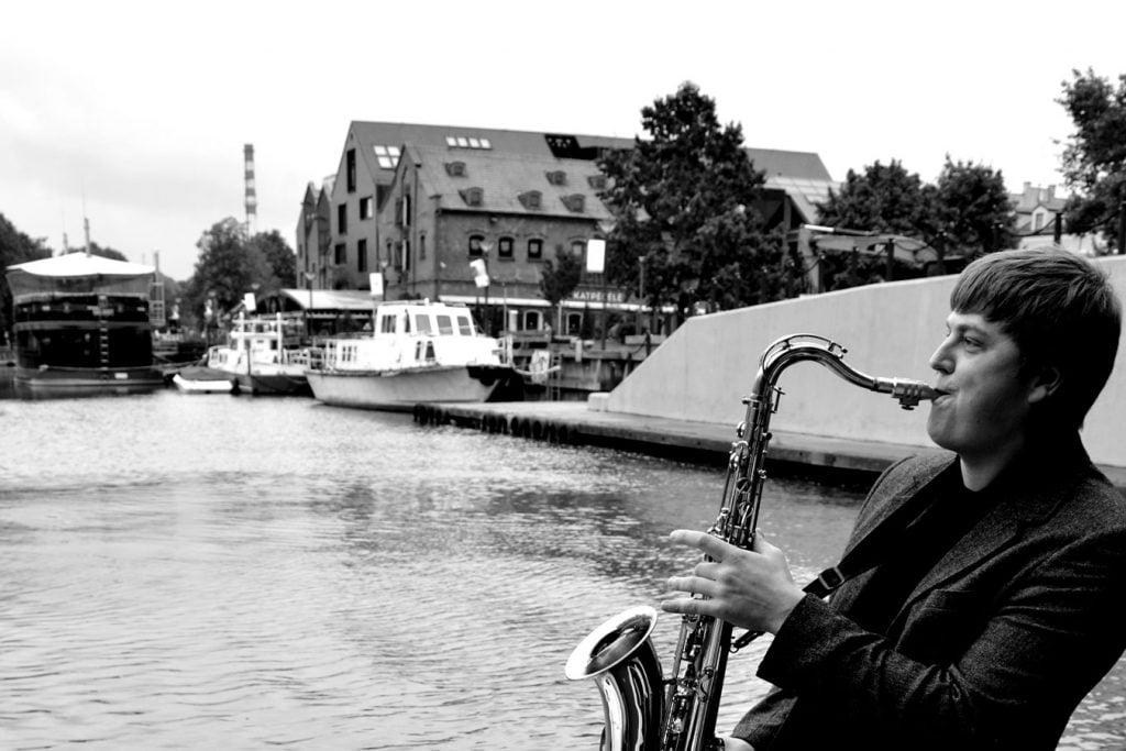 Saksofonistas Giedrius Stunžėnas - profesionalus saksofonistas - Klaipėda