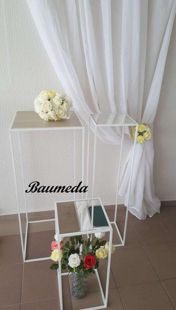 Baumeda - vestuvinių, šventinių dekoracijų gamyba ir nuoma