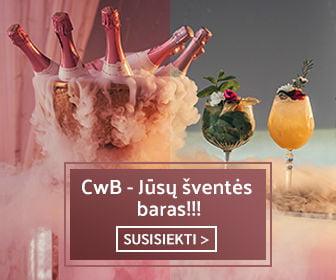 CwB barmenai vestuvėms - mobilus baras